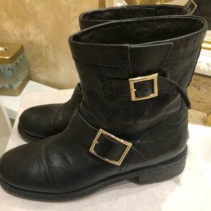 Jimmy Choo Biker leather boots